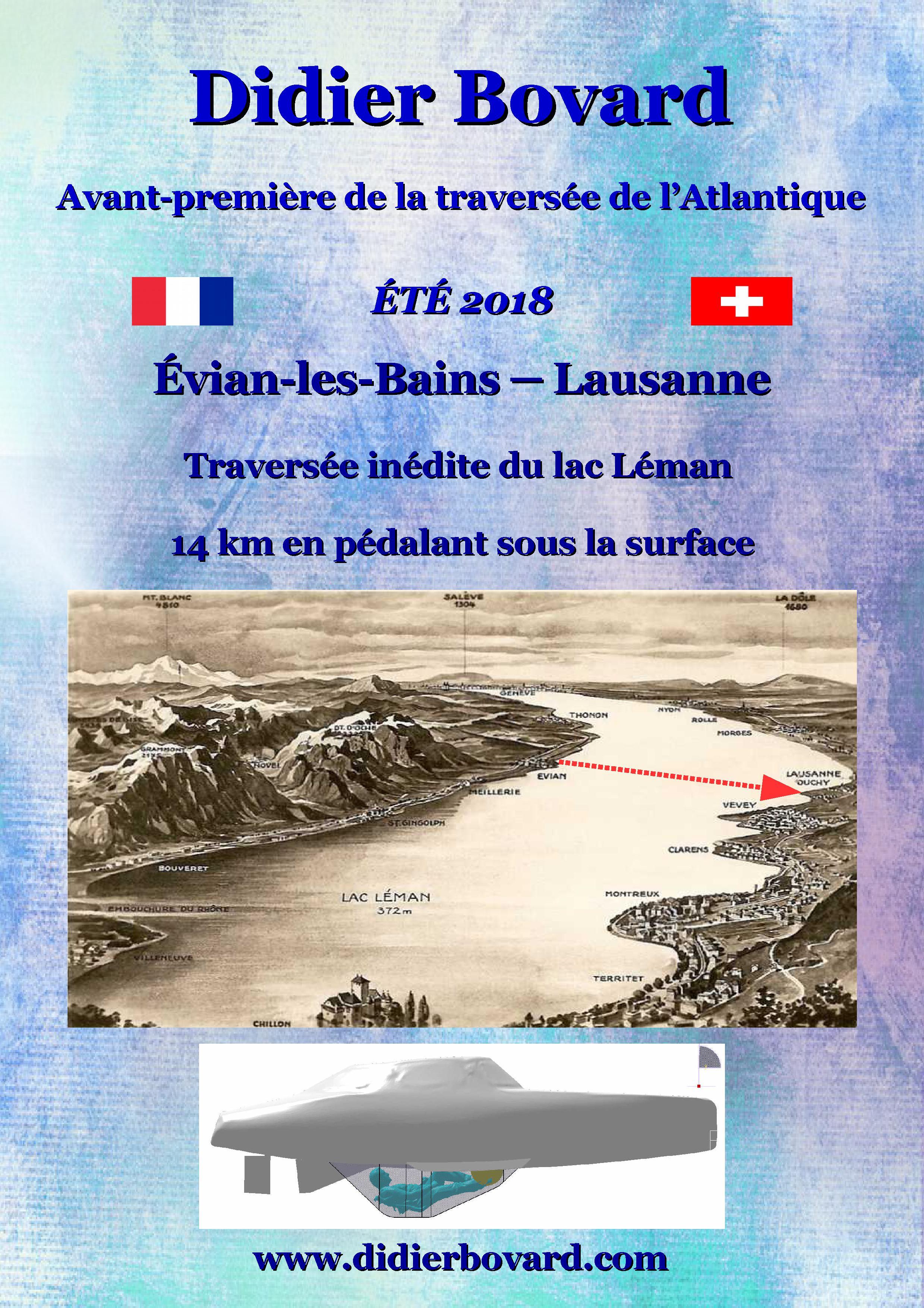 1 Evian Lausanne trajet