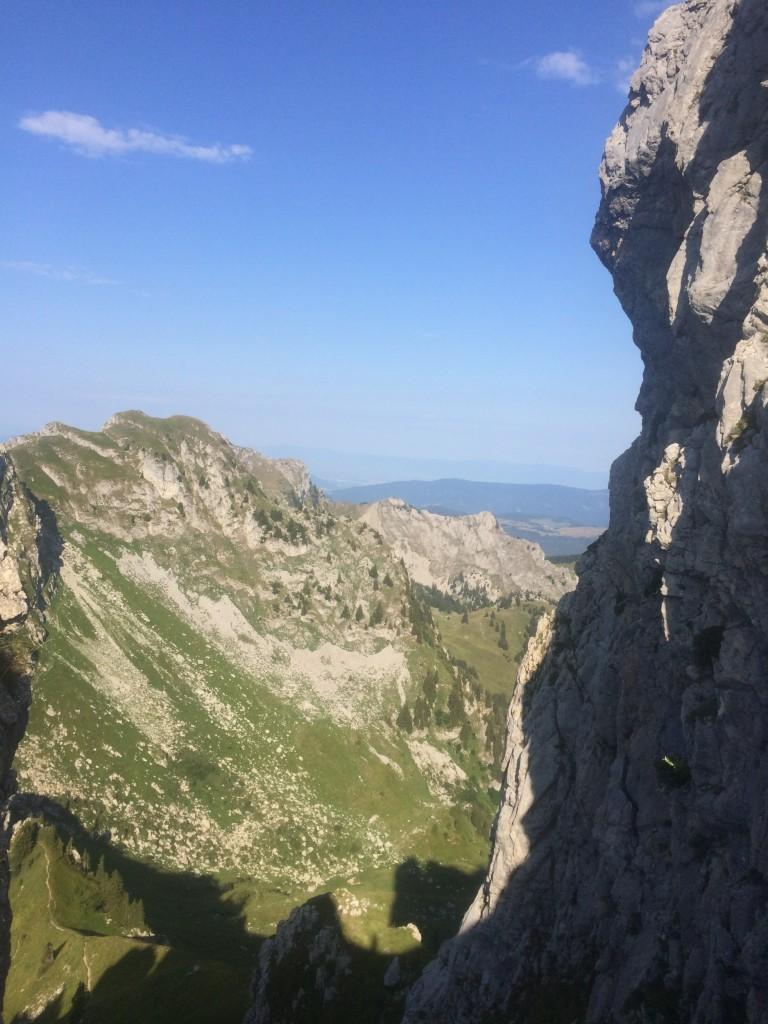 Départ du lieu dit Le Foron 1360 m (Taninges) arrivée au sommet de la pointe de Chalune 2116 m puis descente jusqu'au col de Vésinaz 1802 m remontée à la pointe Chavasse 2012 m et retour par le col de Chalune 1896 et le col du Foron 1832 m. Observations : trois marmottes, deux chamois.