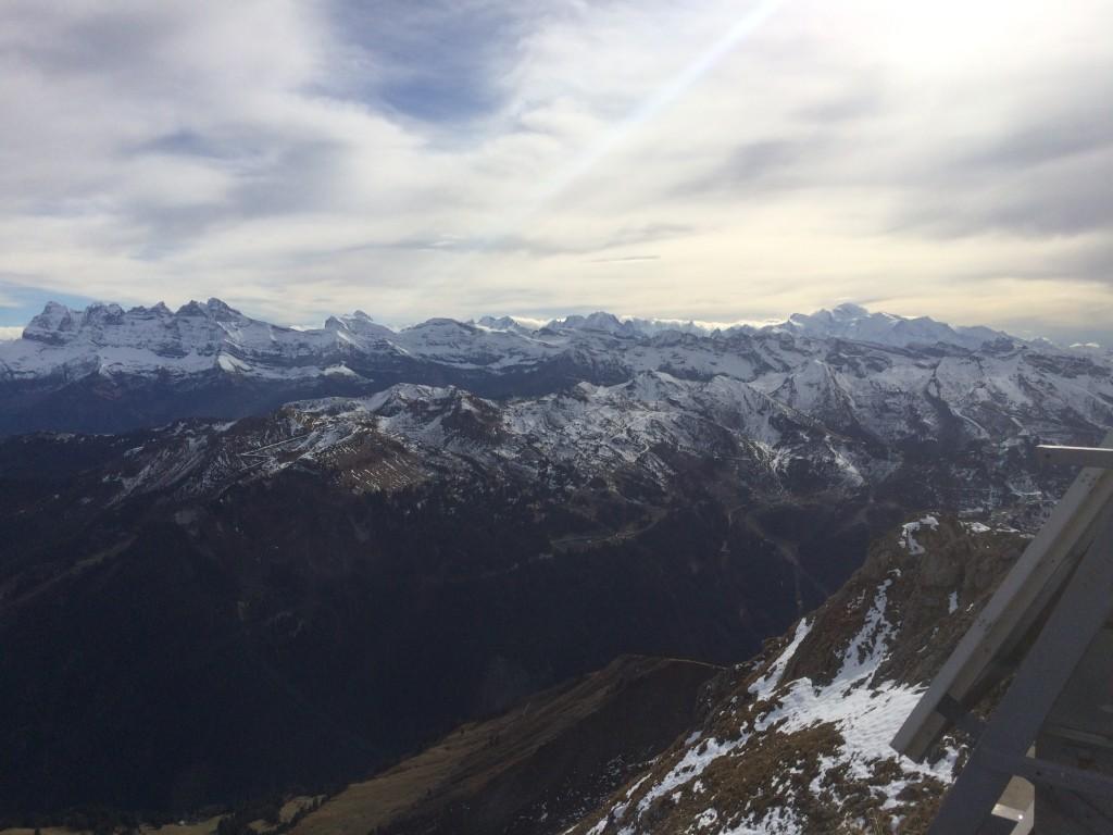 Départ lac des Plagnes 1192 m (Abondance), arrivée au sommet du Mont de Granges 2432 m.