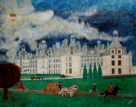 Château-de-Chambord-France