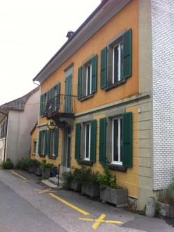 Restaurant café de la gare. St Prex Suisse