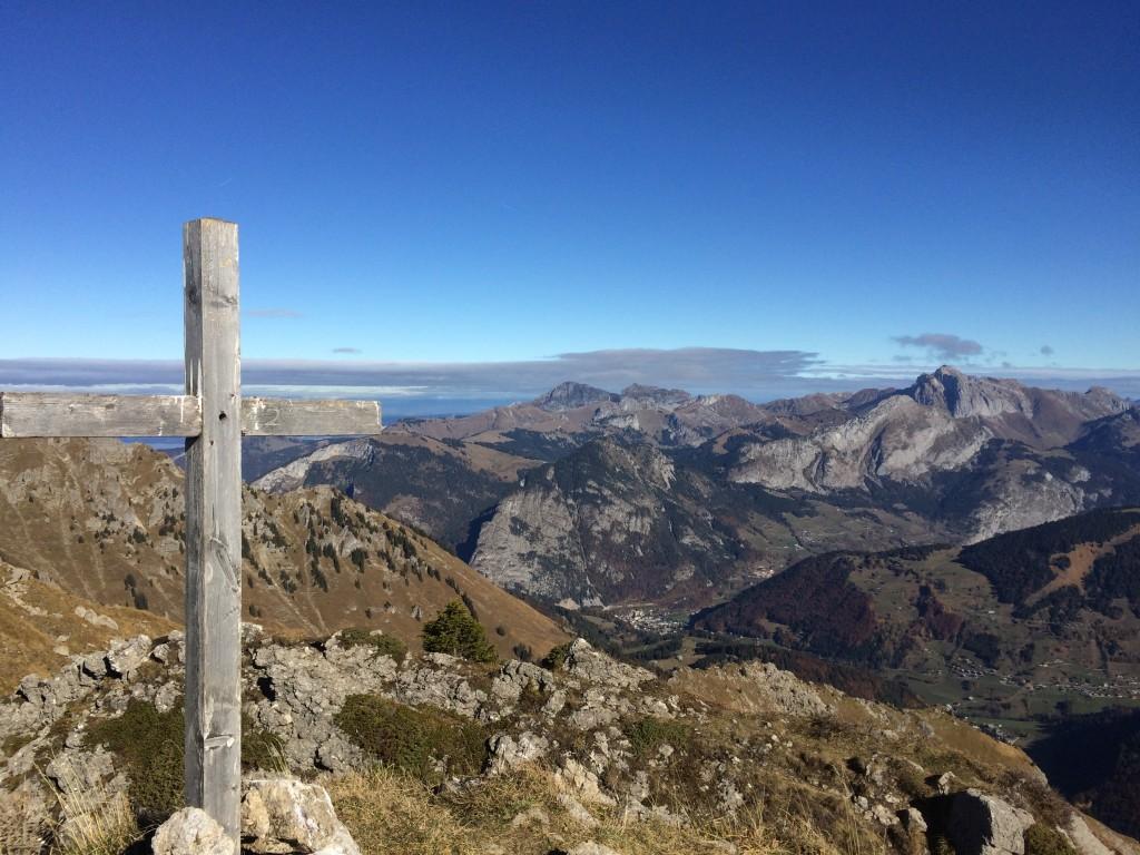 Départ de Prétairié 1130 m (Abondance) arrivé au Roc de Tavaneuse 2156 m.