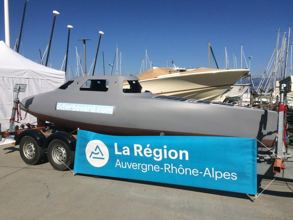 My Way présenté à la fête du nautisme de Thonon-les-Bains les 1er et 2 juin.