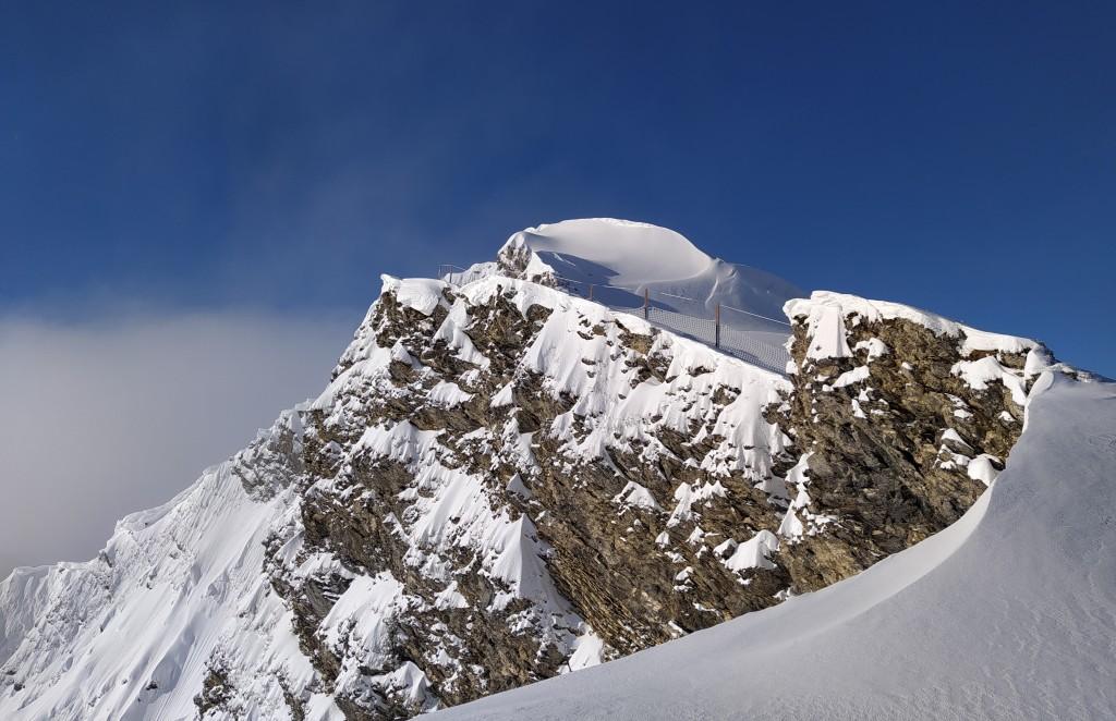Du haut du télésiège du Fornet 2221 m.
