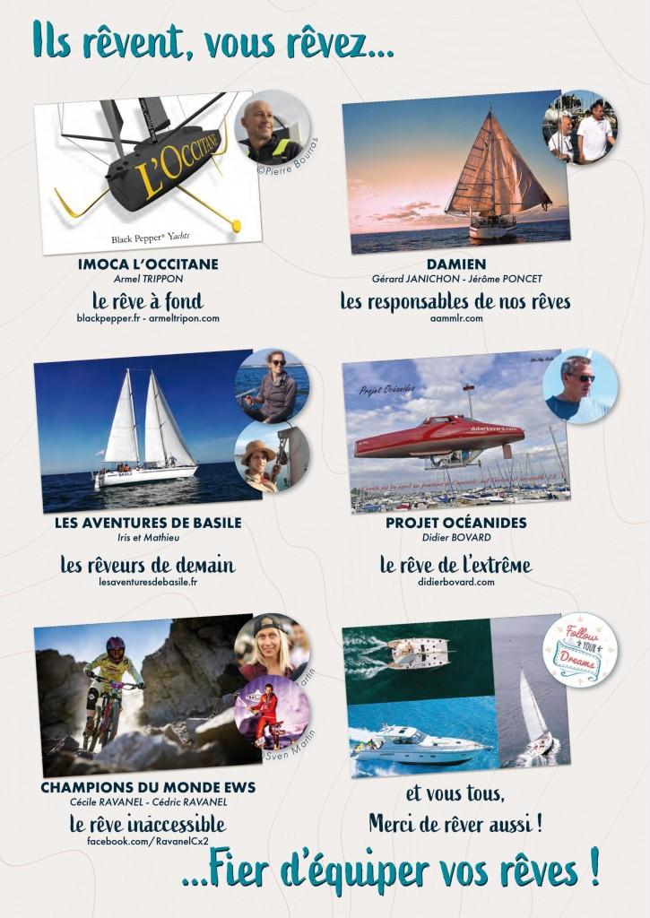 Belle présentation d'aventuriers passionnés en partenariat avec Sea-view-progress sur leur page Facebook.