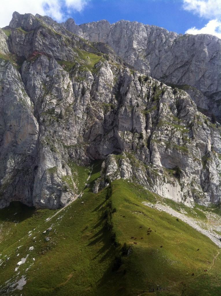 Entrainement avec le tour des Cornettes de Bises à 2432 m.